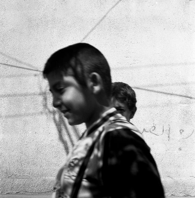 Arab boys © Stewart Weir 2009
